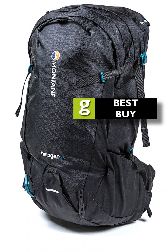 The Montane Halogen 25 gets grough's Best Buy rating. Photo: Bob Smith/grough