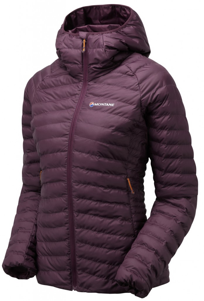 The Montane Phoenix women's jacket uses ThermoPlume insulation