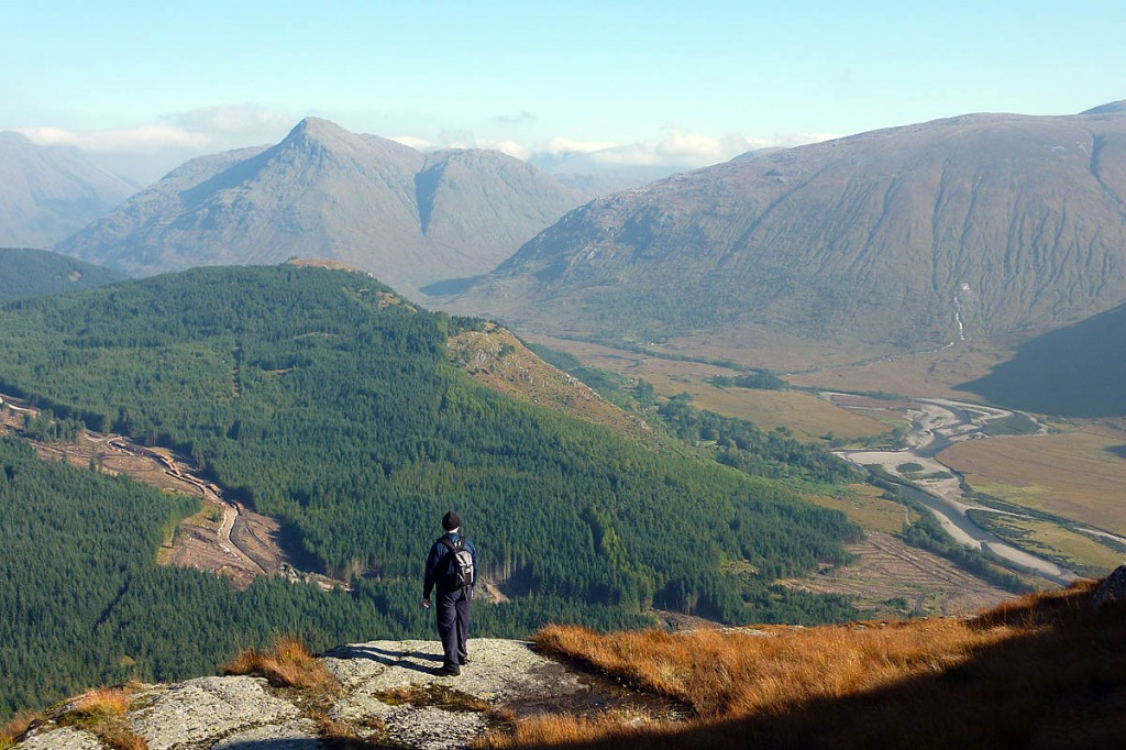 Glen Etive, seen from Beinn Trilleachan. Photo: Alex Bryce