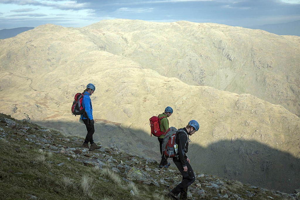 A group on a Mountain Leader training course. Photo: Bob Smith/grough