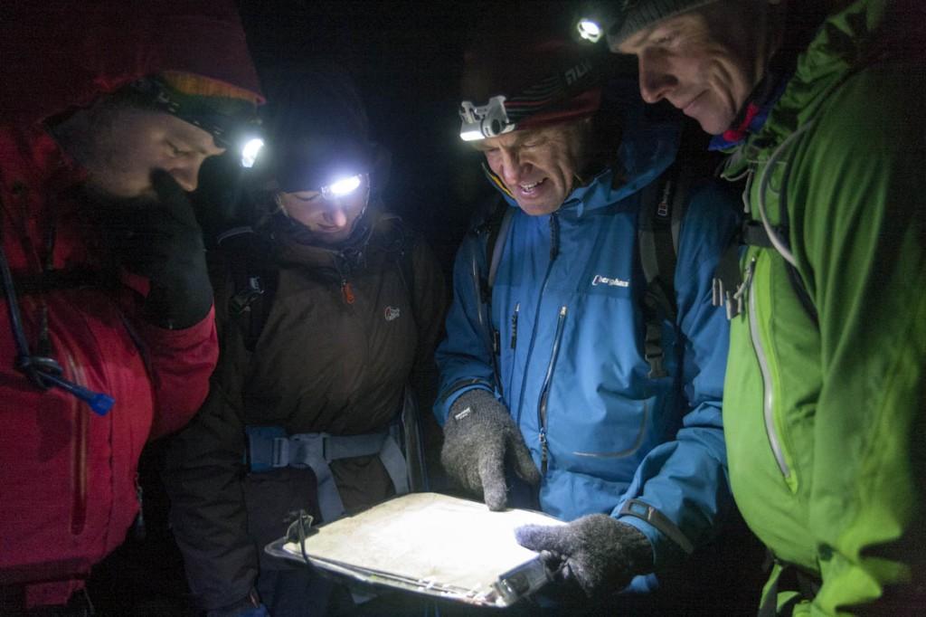 Training for the Mountain Leader award. Photo: Bob Smith/grough