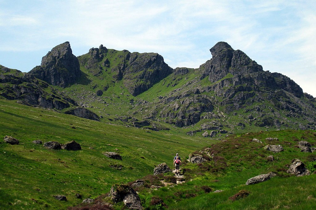 The car park is used by walkers heading for The Cobber. Photo: Neil Reid