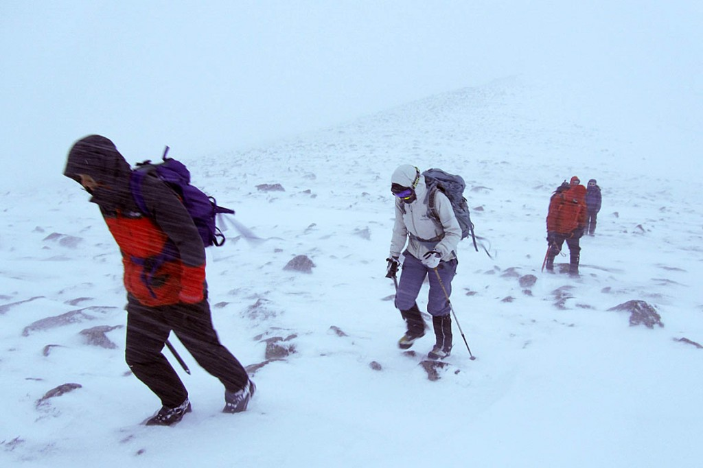 Hillgoers face a return to winter conditions. Photo: Wallace Gilbraith