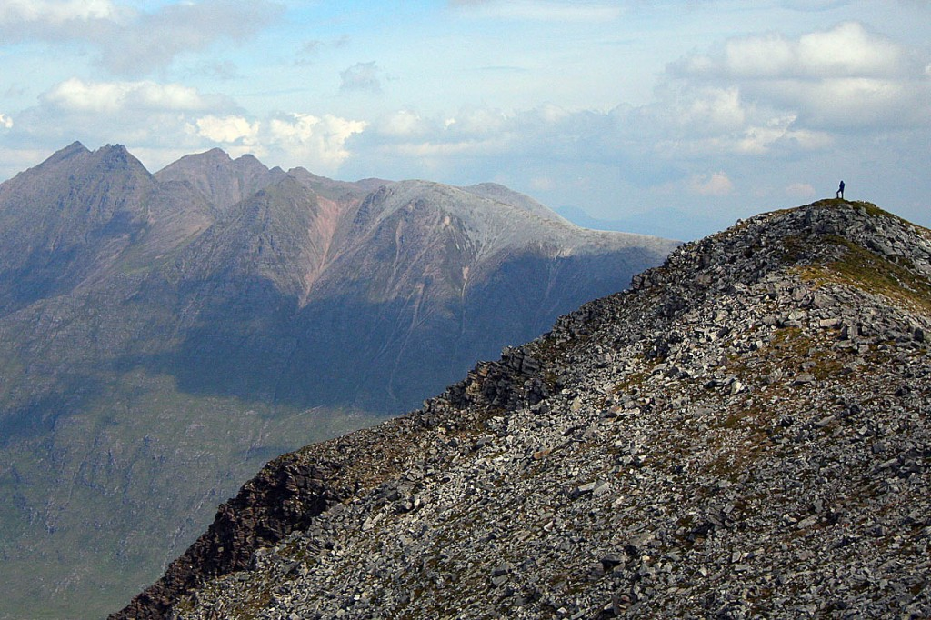 An Teallach from Beinn a' Chlaidhemp. Photo: Myrddyn Phillips