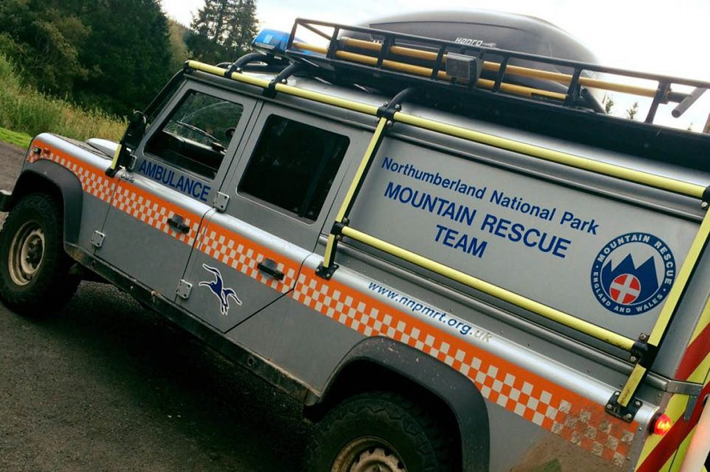 Northumberland National Park Mountain Rescue Team was called out four times in four days.