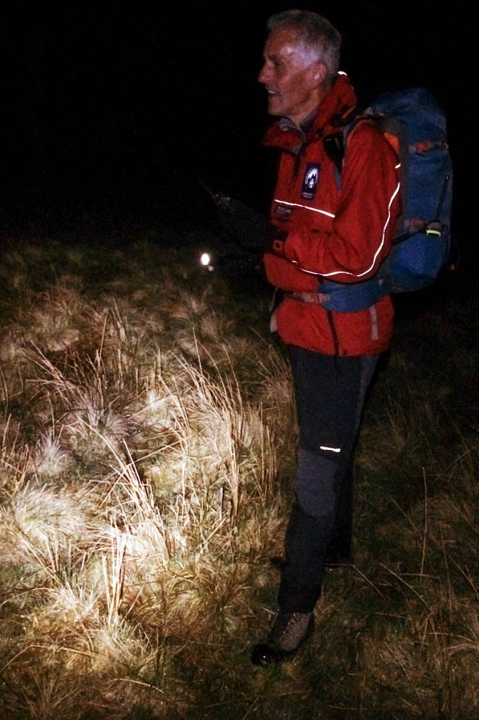 Rescuers faced searching a wide area on the border. Photo: Northumberland NPMRT