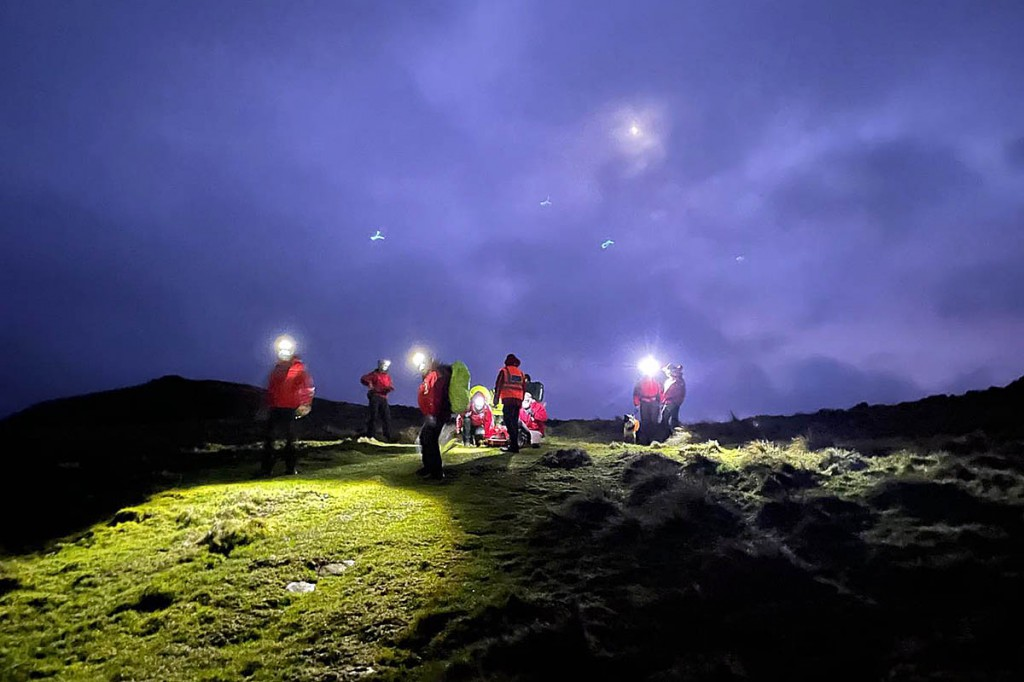 Rescuers in Northumberland were called to the incident on Hadrian's Wall. Photo: NNPMRT