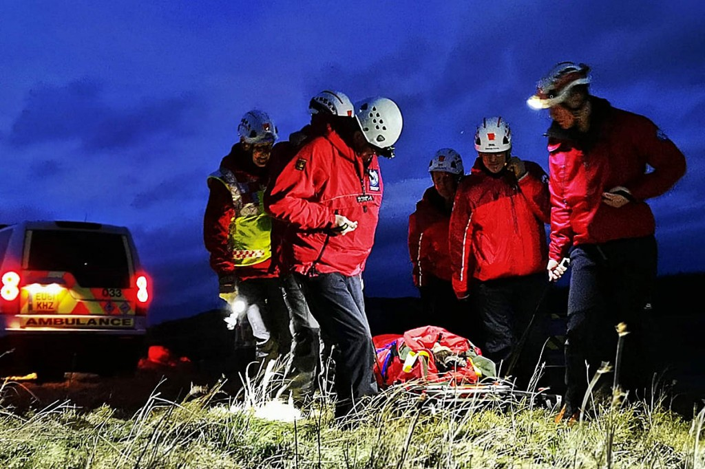 Rescuers may take longer to reach a casualty in the dark. Photo: NNPMRT