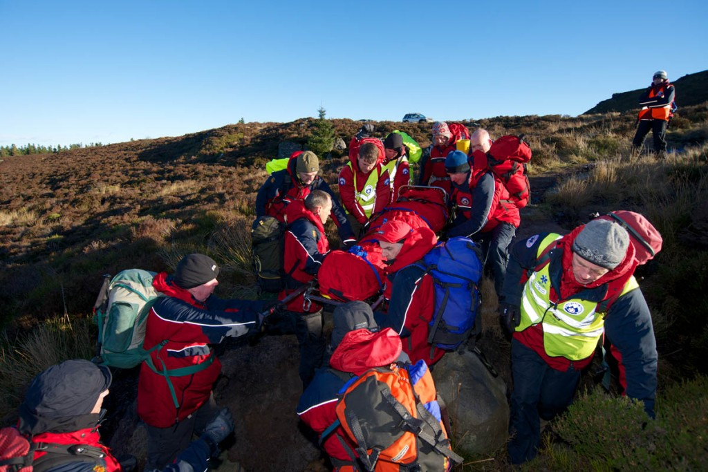 The two teams were called out eight times recently. Photo: Northumberland NPMRT