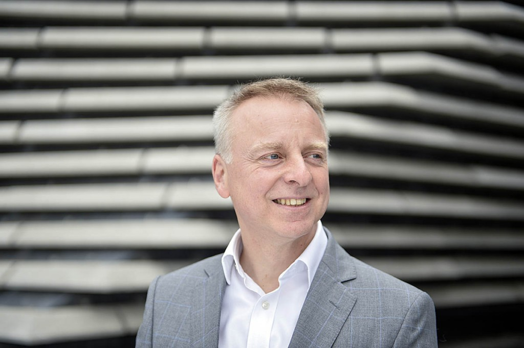 Philip Long, who has been appointed chief of the National Trust for Scotalnd. Photo: Julie Howden/V&A Dundee