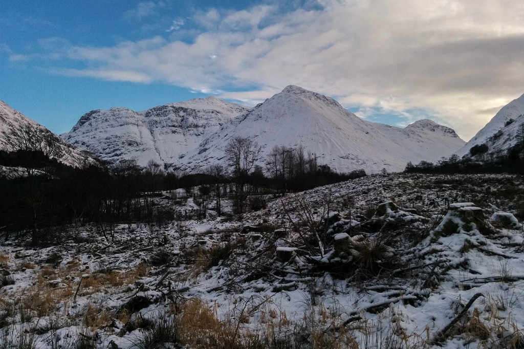 The remains were found on trust land in Glen Coe. Photo: NTS
