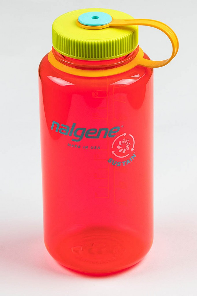 Nalgene Sustain Bottle 1 litre. Photo: Bob Smth/grough