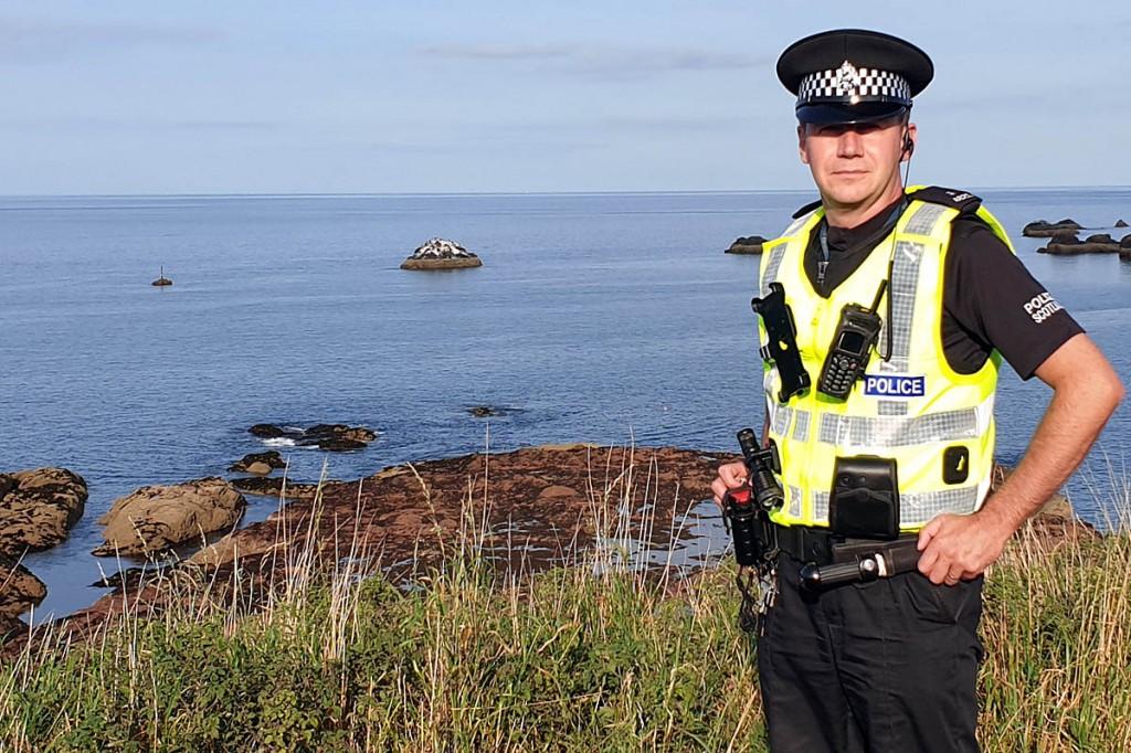 PC Gavin Ross, new wildlife crime investigative support officer