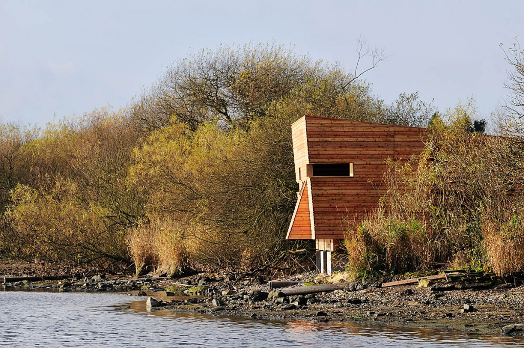 The bird hide had won awards. Photo: Lorne Gill/NatureScot