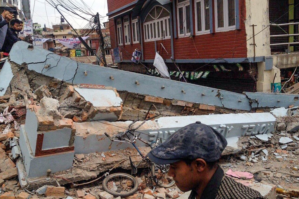 The Nepal earthquake has devastated parts of the impoverished country. Photo: Krish Dulal CC-BY-SA-4.0