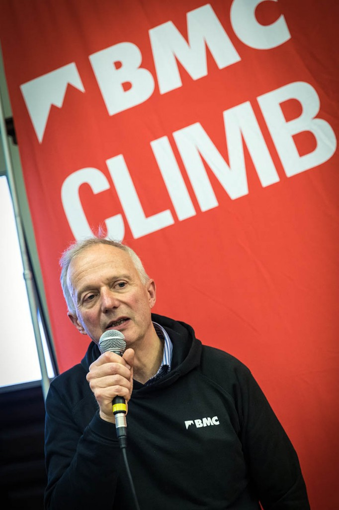 Current BMC president Nick Kurth. Photo: Bob Smith/grough