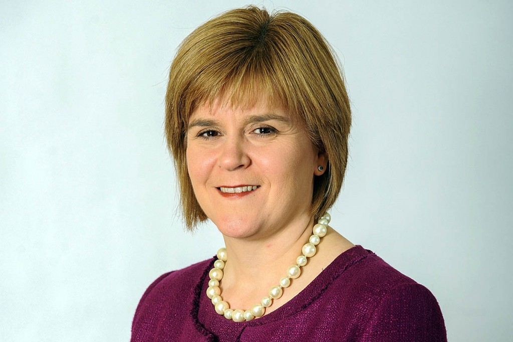 First Minister Nicola Sturgeon wrote to the MCofS. Photo: Scottish Government