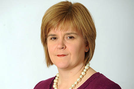 First Minister Nicola Sturgeon. Photo: Crown Copyright/Scottish Government