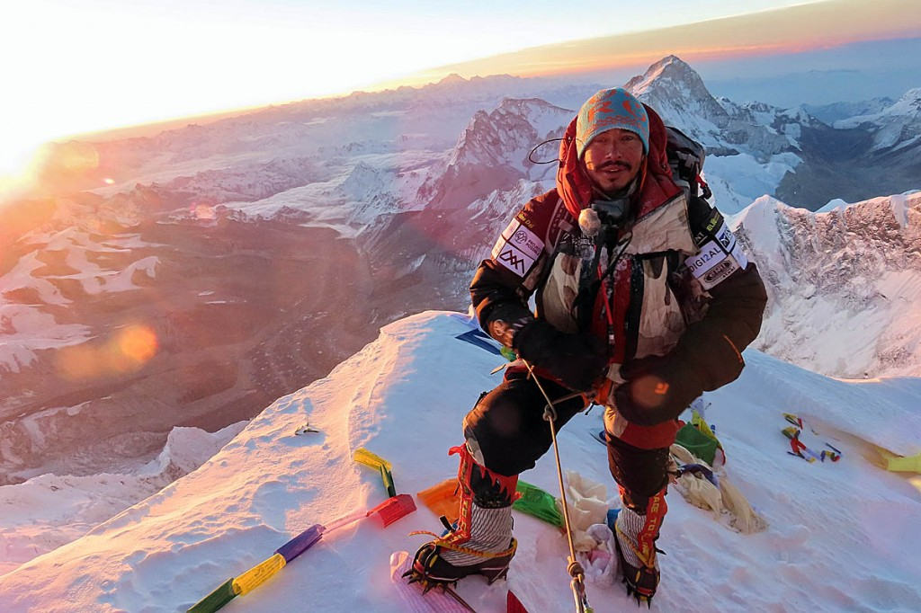 Nirmal Purja has summited all 8,000m peaks in a little over six months