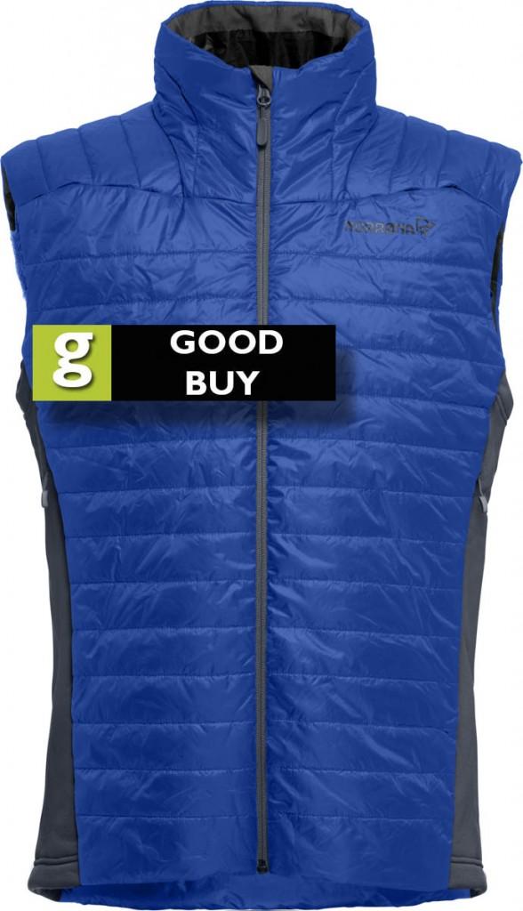 The Norrøna vest earns a Good Buy rating