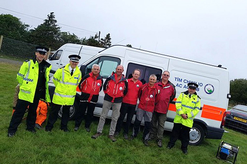 MônSAR is now operational, three years after its formation. Photo: North Wales Police