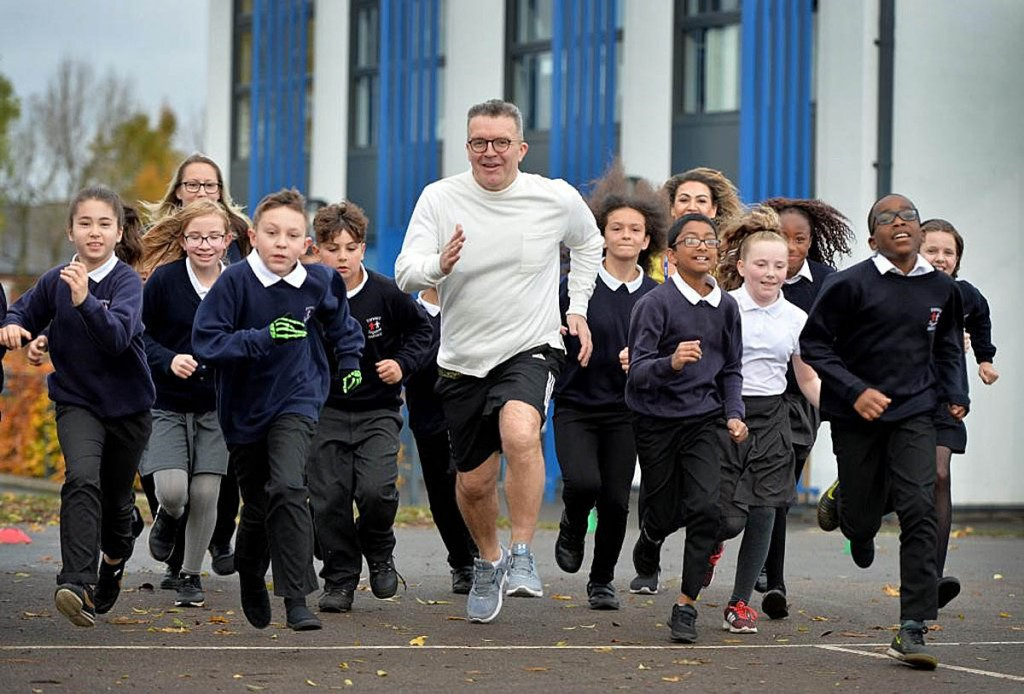 The Labour deputy leader has transformed his health through activity