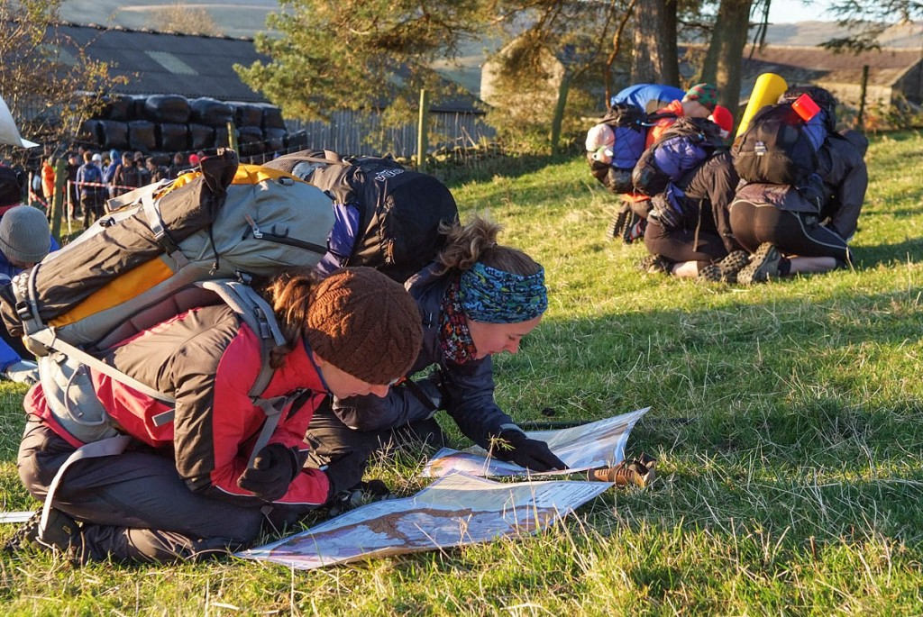 Good navigation skills are essential for the OMM