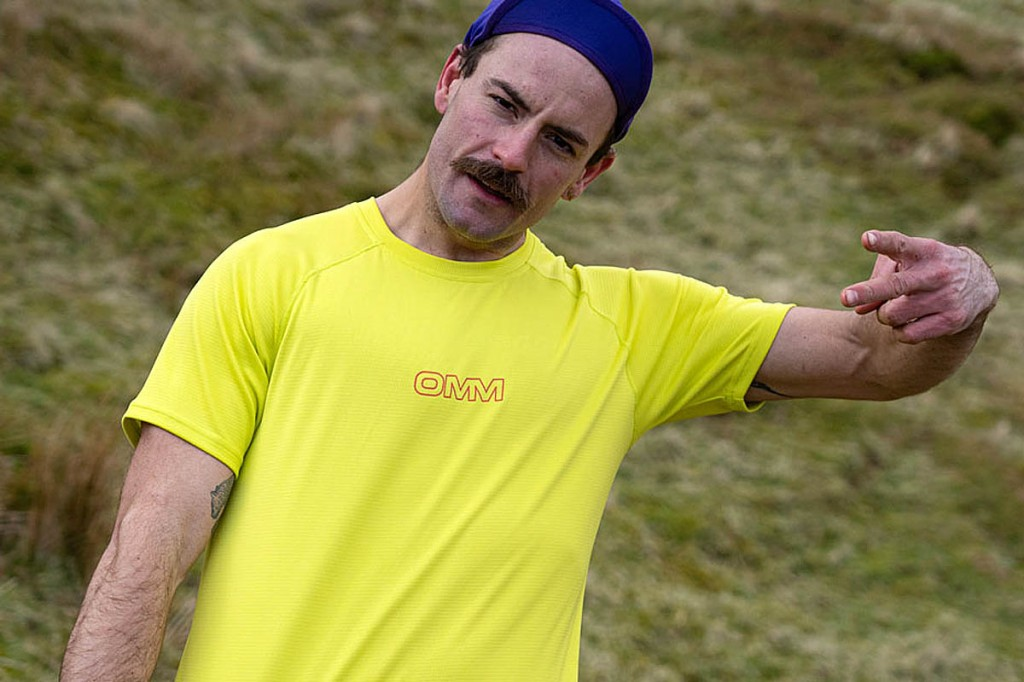 The OMM-supported athlete has abandoned his double Bob Graham attempt for the second time
