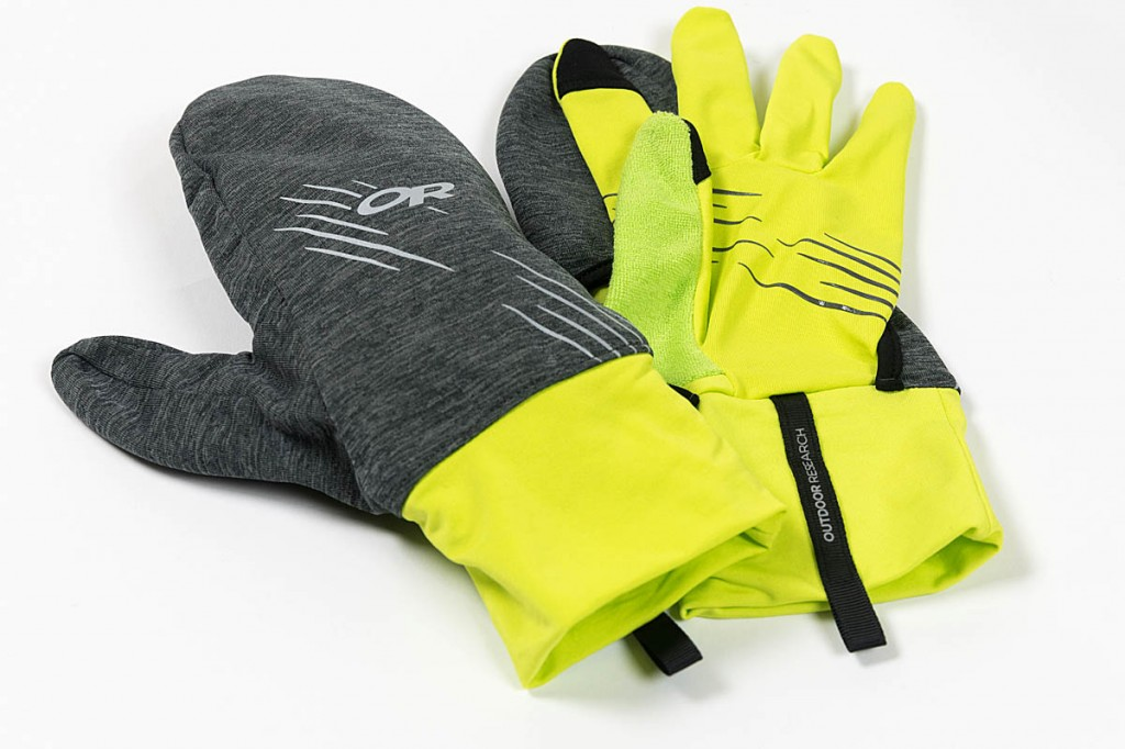 Outdoor Research Overdrive Convertible Gloves. Photo: Bob Smith/grough