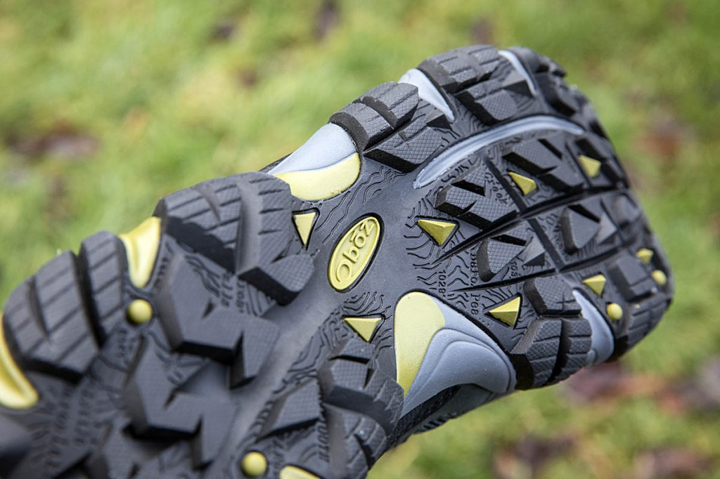 The Sawtooth outsole, featuring the Sawtooth range. Photo: Bob Smith/grough