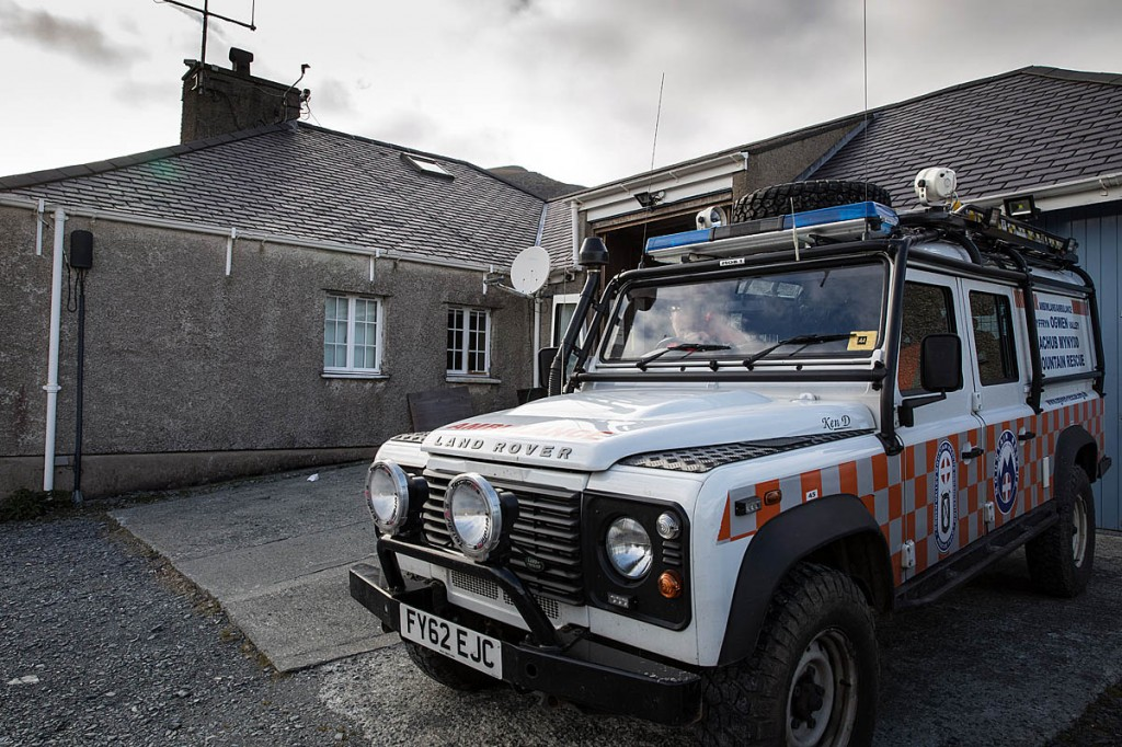 Ogwen Valley Mountain Rescue Organisation had to contend with four simultaneous incidents. Photo: Bob Smith/grough