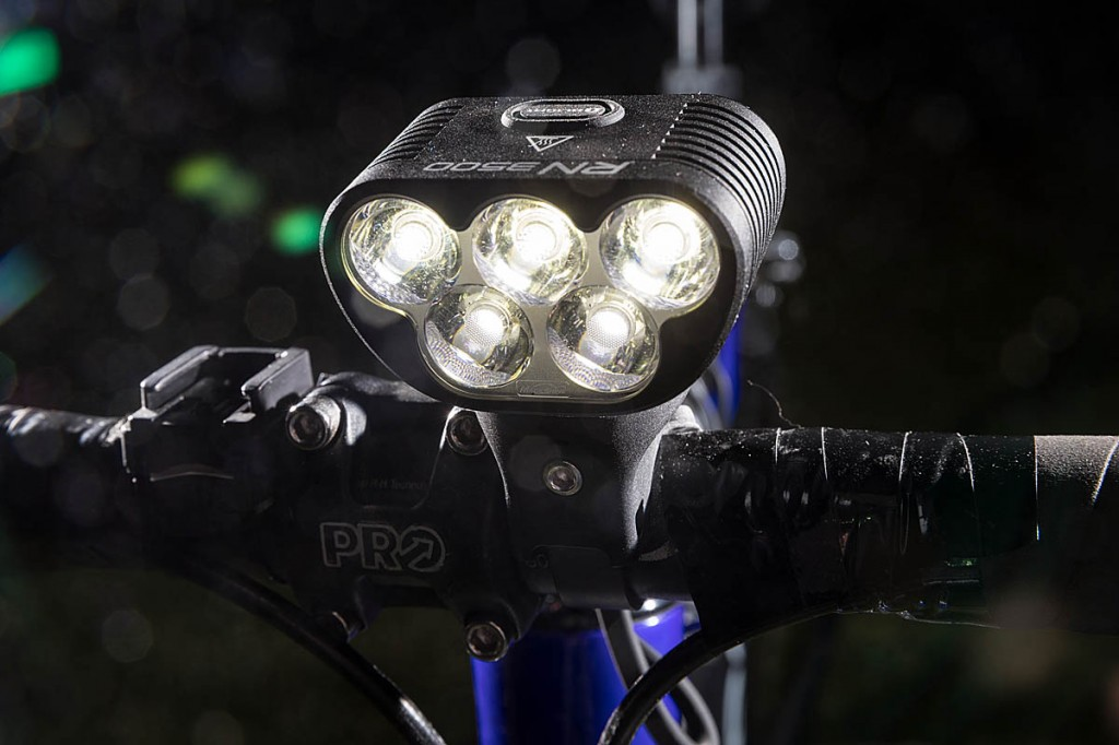 The RN3500 front light. Photo: Bob Smith/grough
