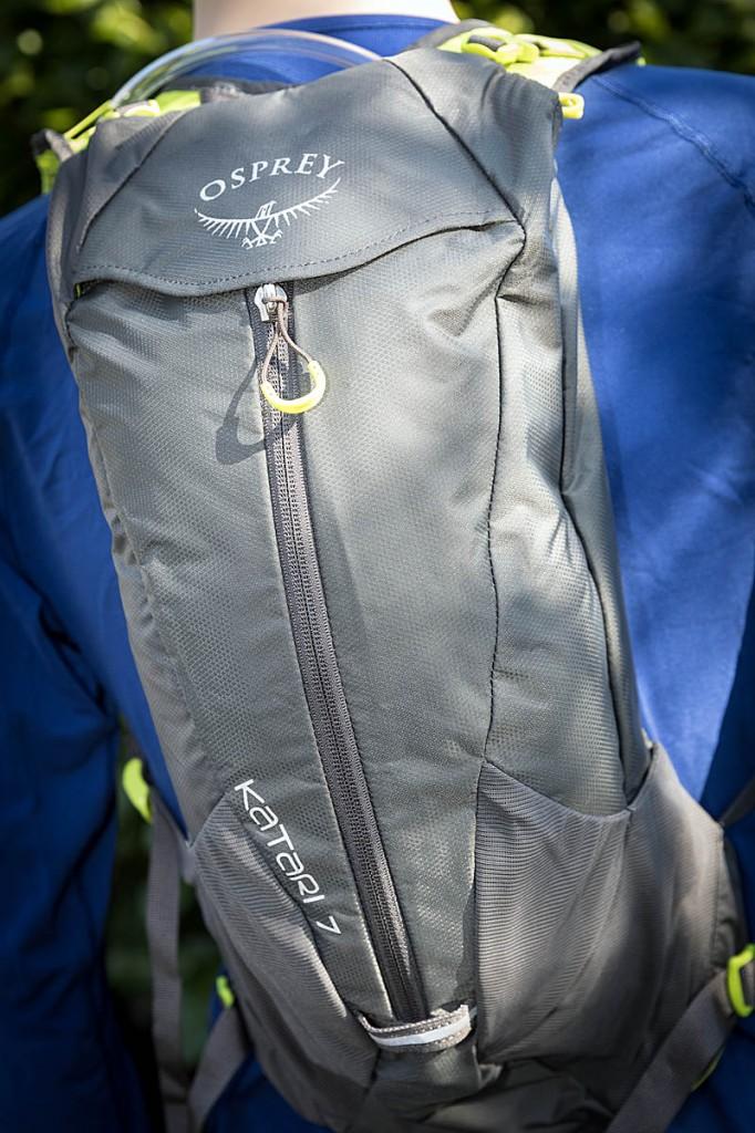 The Osprey Katari 7 pack. Photo: Bob Smith/grough