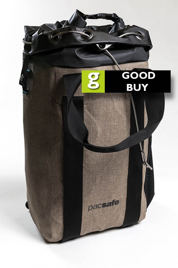 We rated the Pacsafe Dry 15L a good buy. Photo: Bob Smith/grough