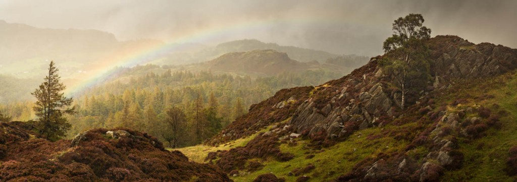 A view of Great How from Holme Fell has been added to prints being auctioned. Photo: Greg Whitton