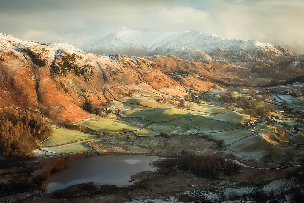A view of Little Langdale is among the pictures being auctioned. Photo: Mark Littlejohn