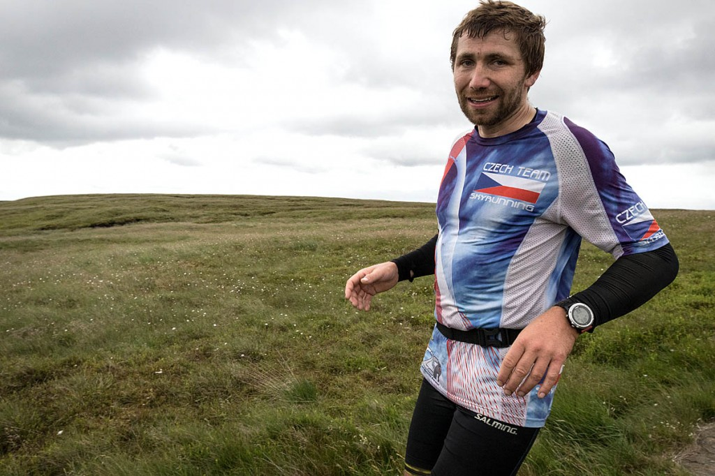 Pavel Paloncý was attempting a new fastest known time to run the Pennine Way. Photo: Bob Smith/grough