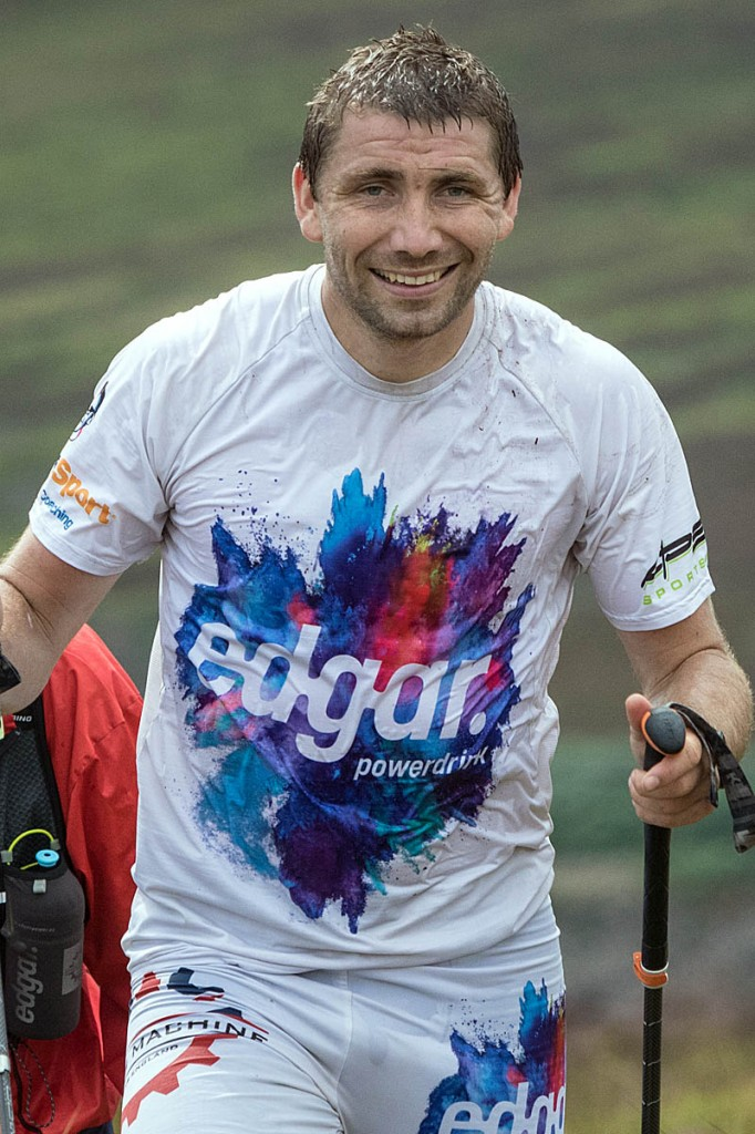 Pavel Paloncý gave up his attempt when it was clear he could not break the record. Photo: Bob Smith/grough