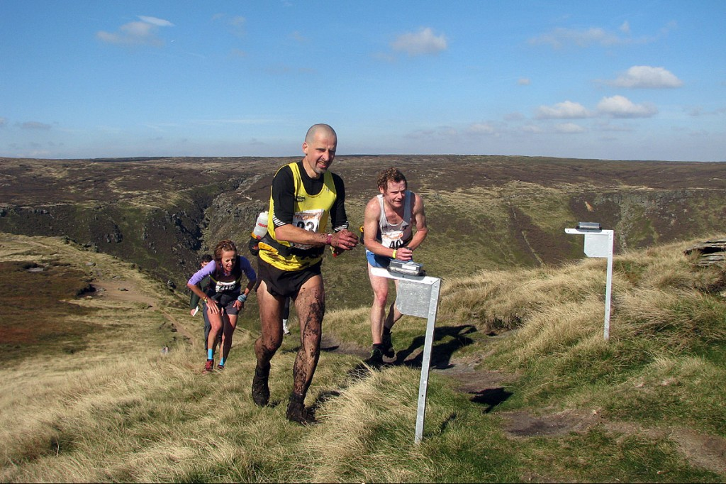 Runners taking part in the Edale Skyline race contributed £300 to the Peak District Access Fund