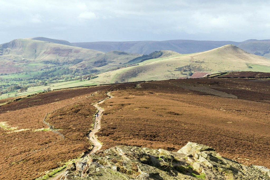 The Great Ridge, seen from Win Hill. Photo: Bob Smith/grough