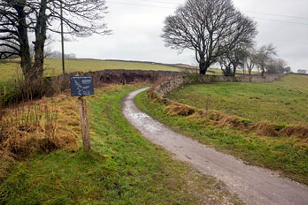 Part of the High Peak Trail due to be widened. Photo: Alex Hyde