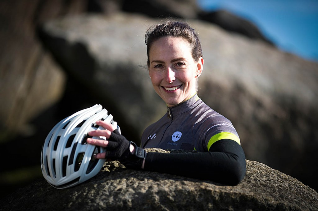 Lorna Fisher says the ride will be her most challenging. Photo: Rod Kirkpatrick/F Stop Press