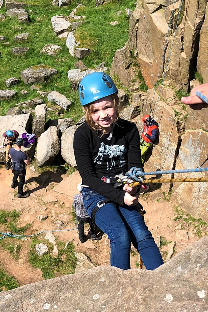 Abseiling is among activities on offer