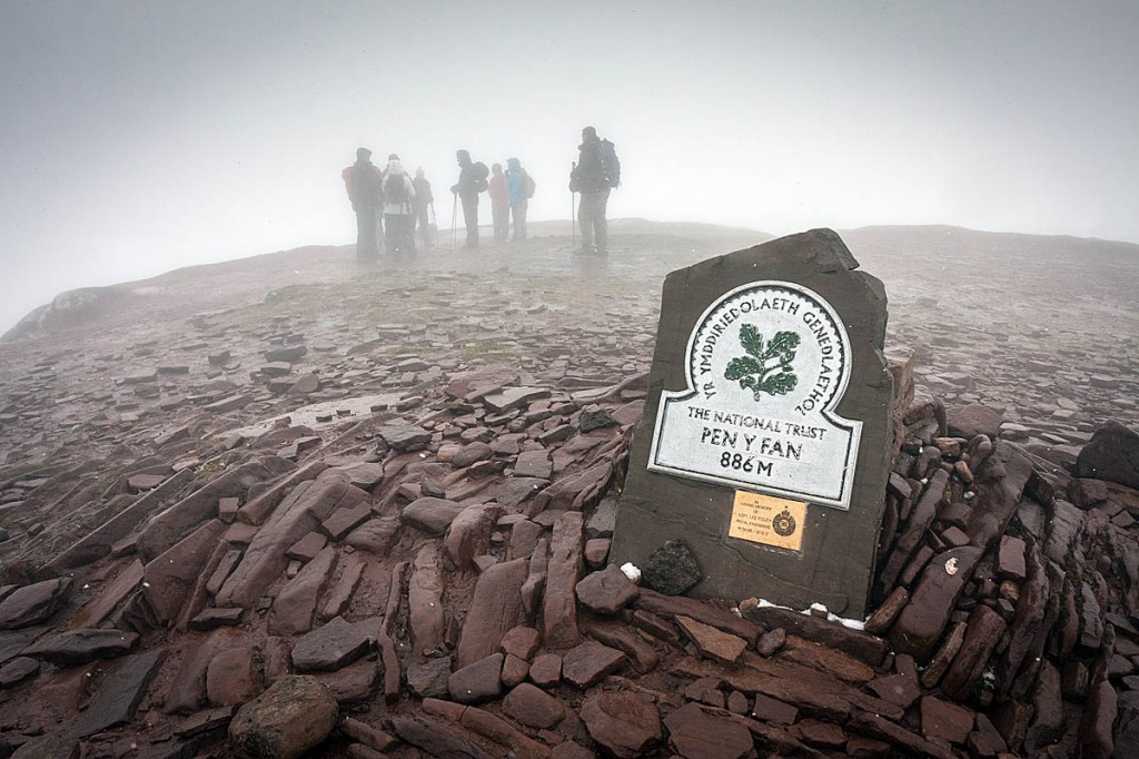Pen y Fan is among mountains closed by the national park. Photo: Bob Smith/grough