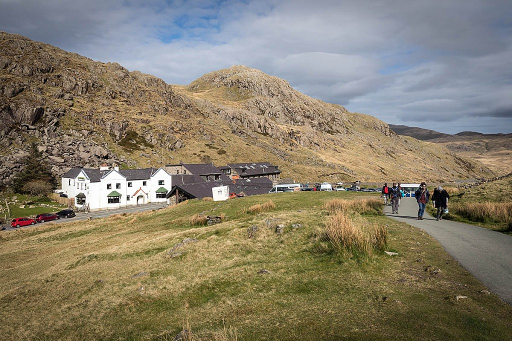 Pre-booking will be in force for Pen-y-Pass car park. Photo: Bob Smith/grough