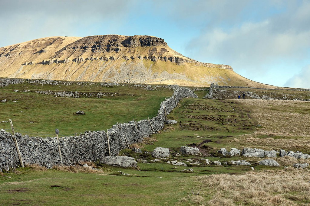 The walker collapsed on the path leading from Brackenbottom to Pen-y-ghent. Photo: Bob Smith/grough