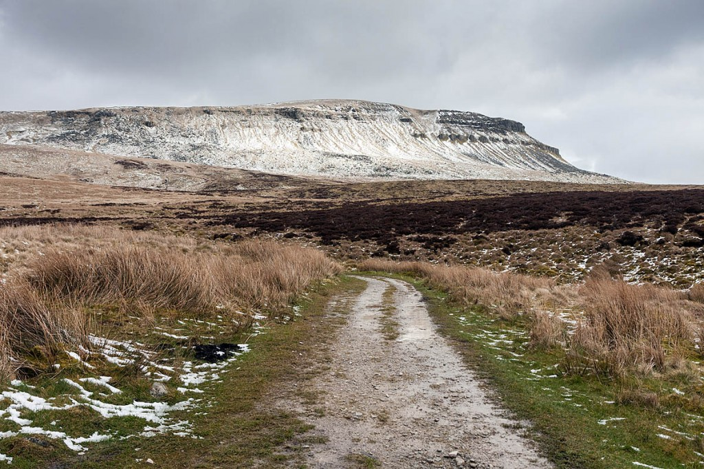 The incident happened as the walker was descending Pen-y-ghent. Photo: Bob Smith/grough