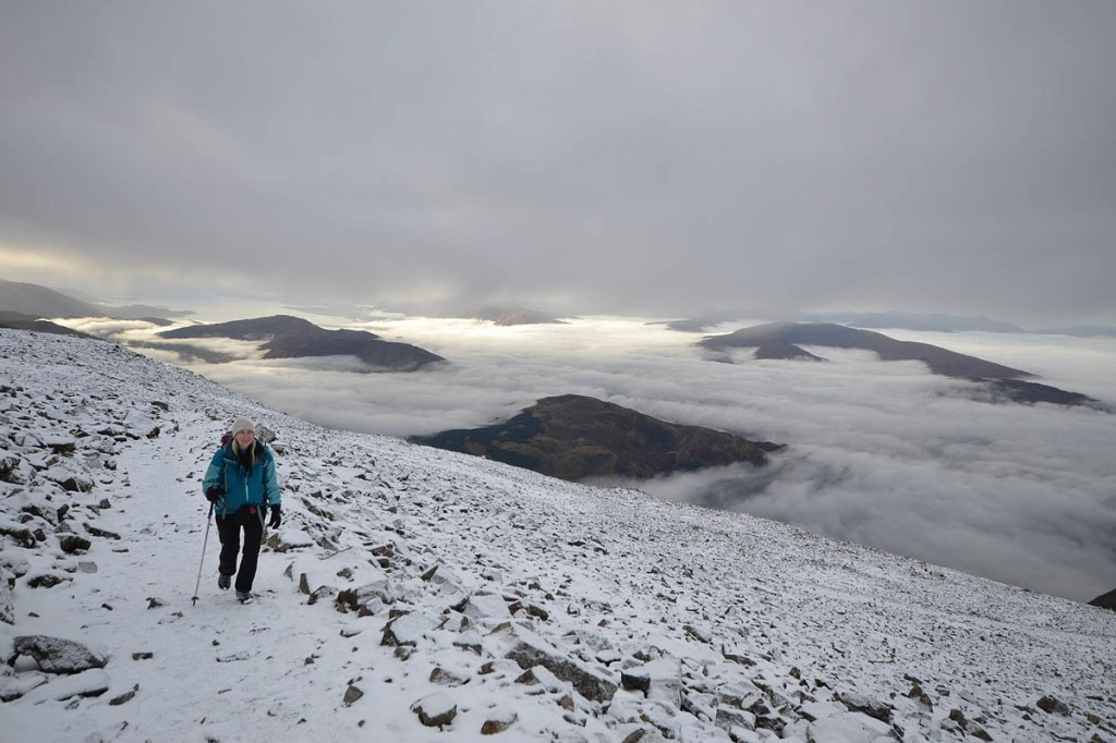 Phoebe Smith plans to wake on Christmas Day on Ben Nevis