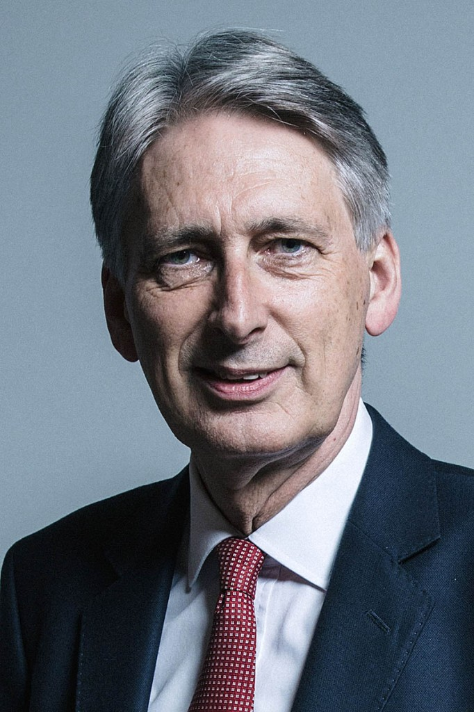 Chancellor of the Exchequer Philip Hammond. Photo: Chris McAndrew/UK Parliament CC-BY-3.0