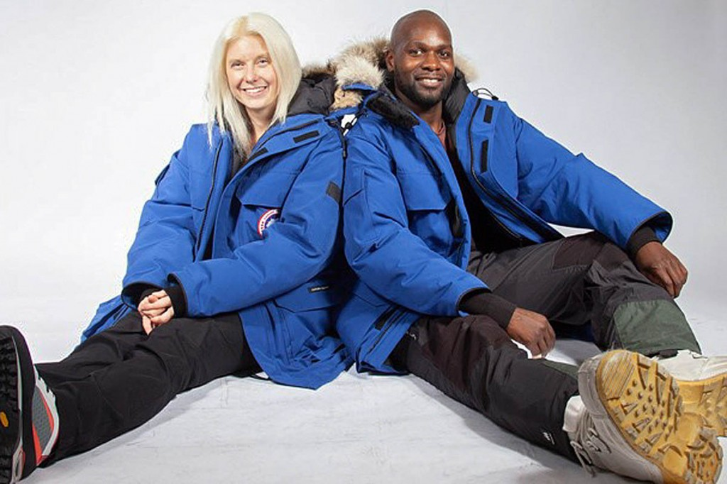 Phoebe Smith and Dwayne Fields